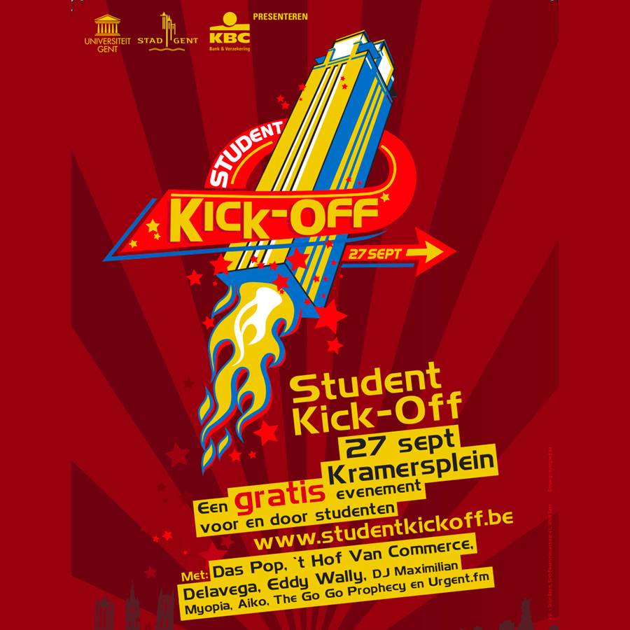 student kick-off gent - productie - Aventi